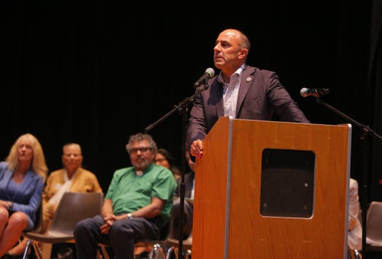 U.S. Rep. Jimmy Panetta (D-20) spoke about immigration policy at the 15th anniversary celebration for COPA, a group that works to engage voters on immigration, health care and housing on the Central Coast.