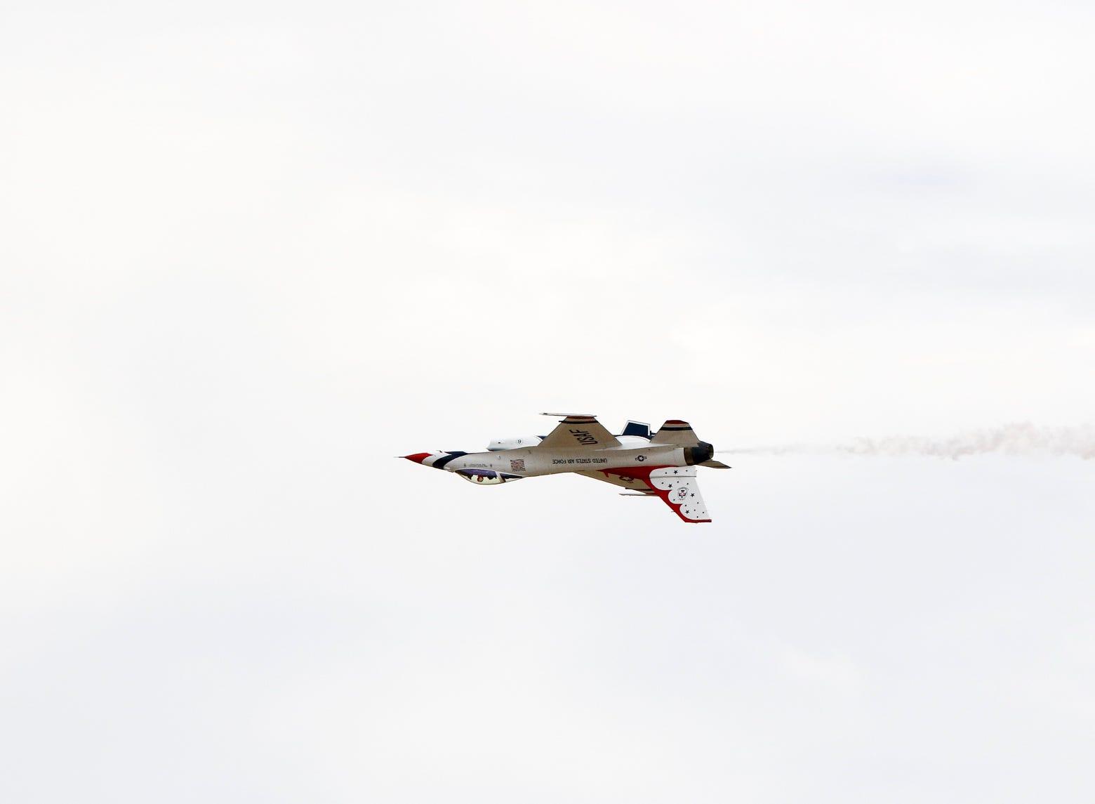 Highlights from the 38th annual California International Airshow, Salinas at the Salinas Municipal Airport on Sunday, September 30, 2018 in Salinas, Calif.