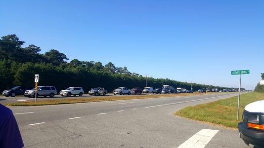 Chesapeake Bay Bridge-Tunnel traffic