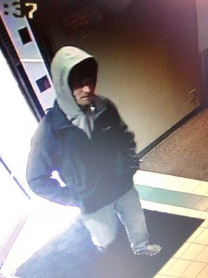 Sioux Falls police released a still surveillance image of the suspect in a casino robbery on Sunday.