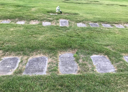 When the nuns of the Sisters of the Visitation of Holy Mary sold the their property at Elfindale Manor, the remains of their deceased fellow sisters were dug up and moved -- not to the Pacific Northwest -- but to Resurrection Cemetery on West Division Street.