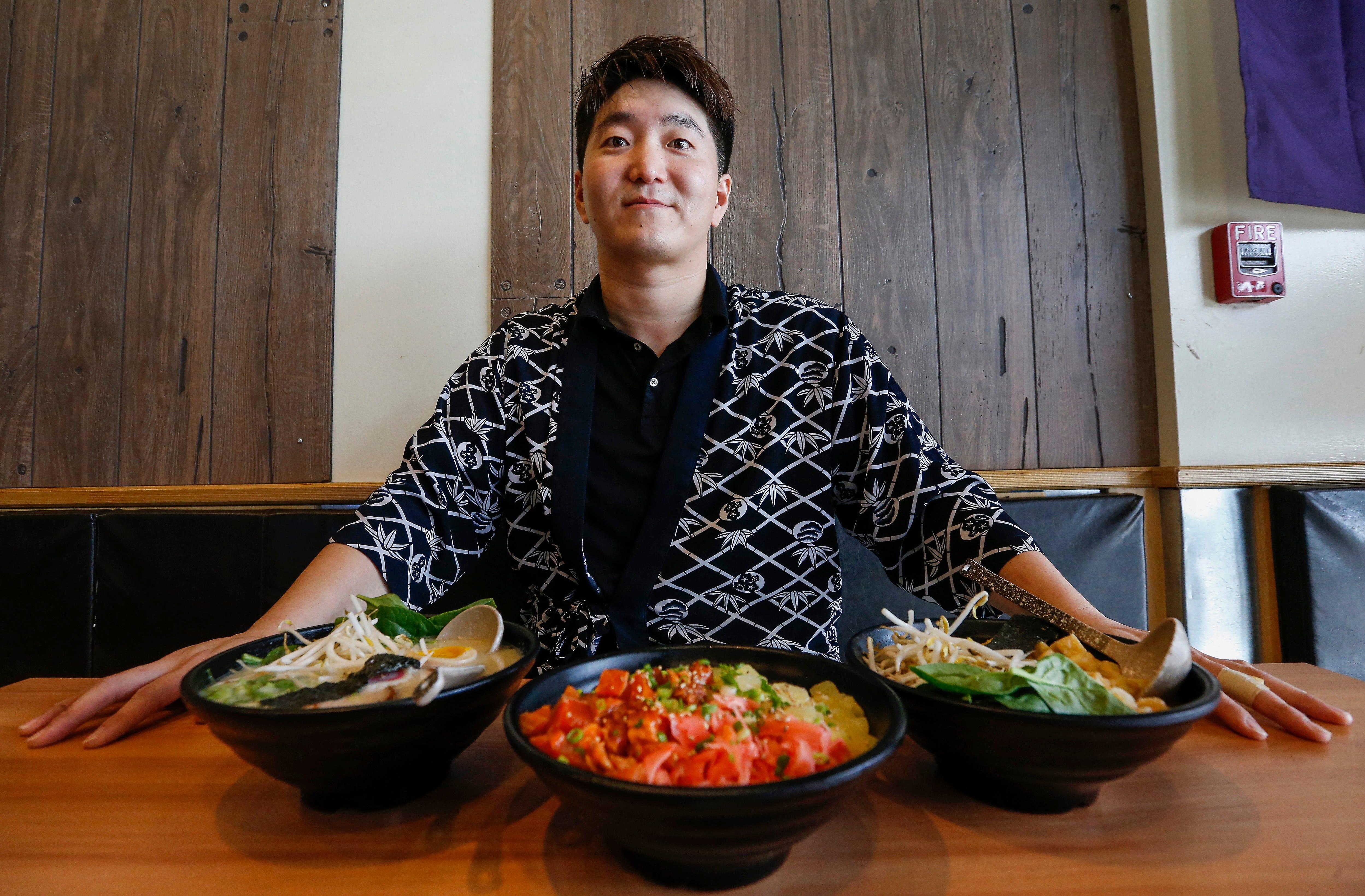 Springfield Japanese food Ramen & Sushi Kuma