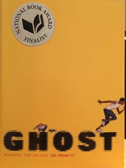 """""""Ghost"""" by Jason Reynolds will be read by both students and staff at Wilson Middle School this fall."""