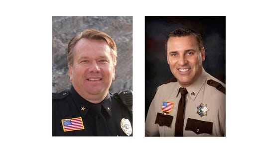 Stearns sheriff candidates Dave Bentrud and Steve Soyka