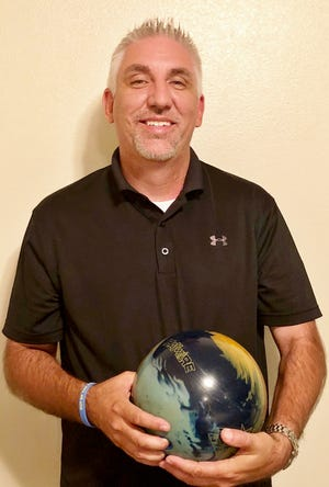 Mat Hill has only been bowling for two years, but has already rolled a 600 series.