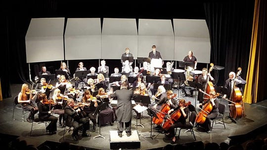 The Marshfield Symphony Orchestra will perform Oct. 12at University of Wisconsin-Stevens Point at Marshfield's Helen Connor Laird Theater.