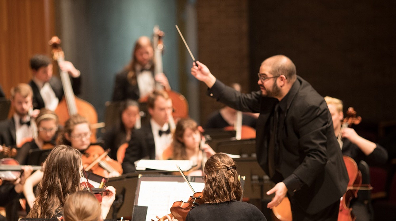 UWSP Symphony Orchestra and Marshfield Symphony Orchestra
