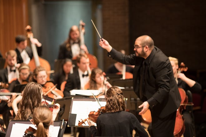 The University of Wisconsin-Stevens Point Symphony Orchestra will perform Oct. 10 in Michelsen Hall.