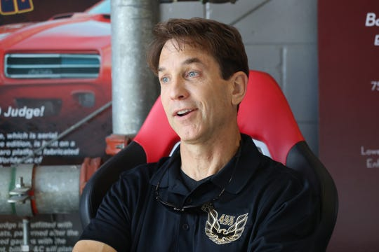 Tod Warmack recalls the first time he saw a Trans Am while he was in high school at Trans Am Worldwide in Tallahassee, Fla. Monday, Oct. 1, 2018.
