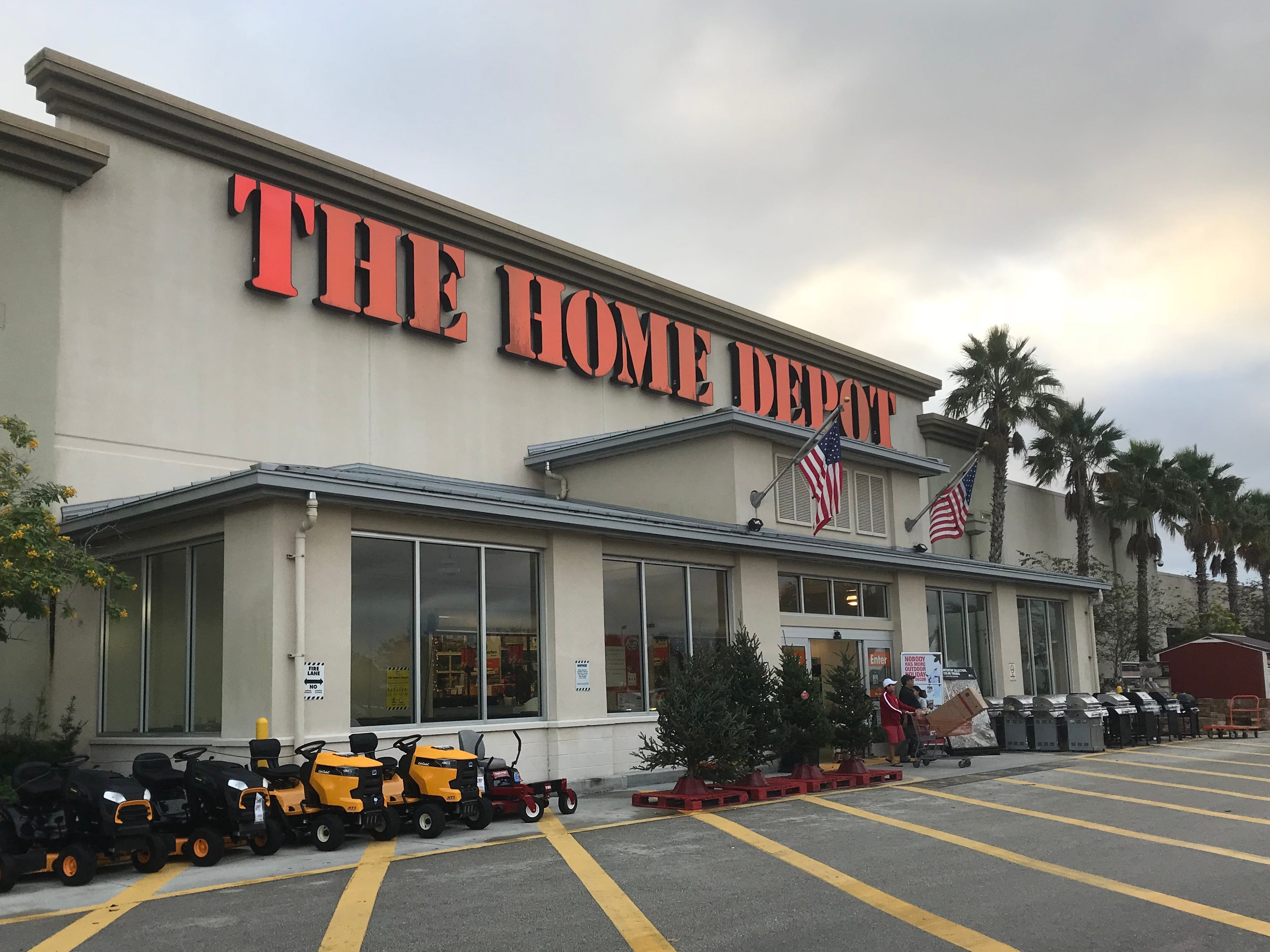 Home Depot has traditionally stayed closed on Thanksgiving.
