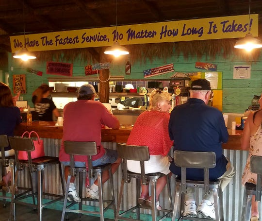 Dune Dog Cafe in Stuart's diverse menu offers something for everyone ranging from their unique hot dog selection to crab and lobster dinners..