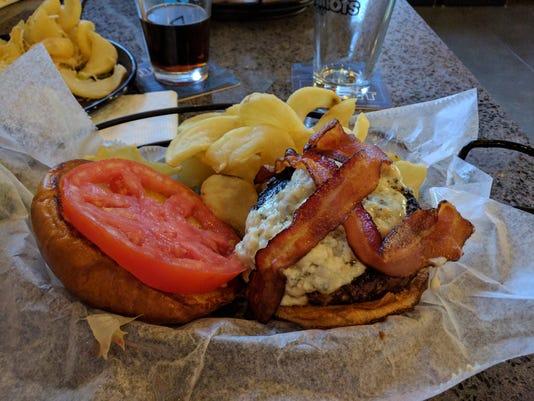 Big Shots Black And Blue Burger