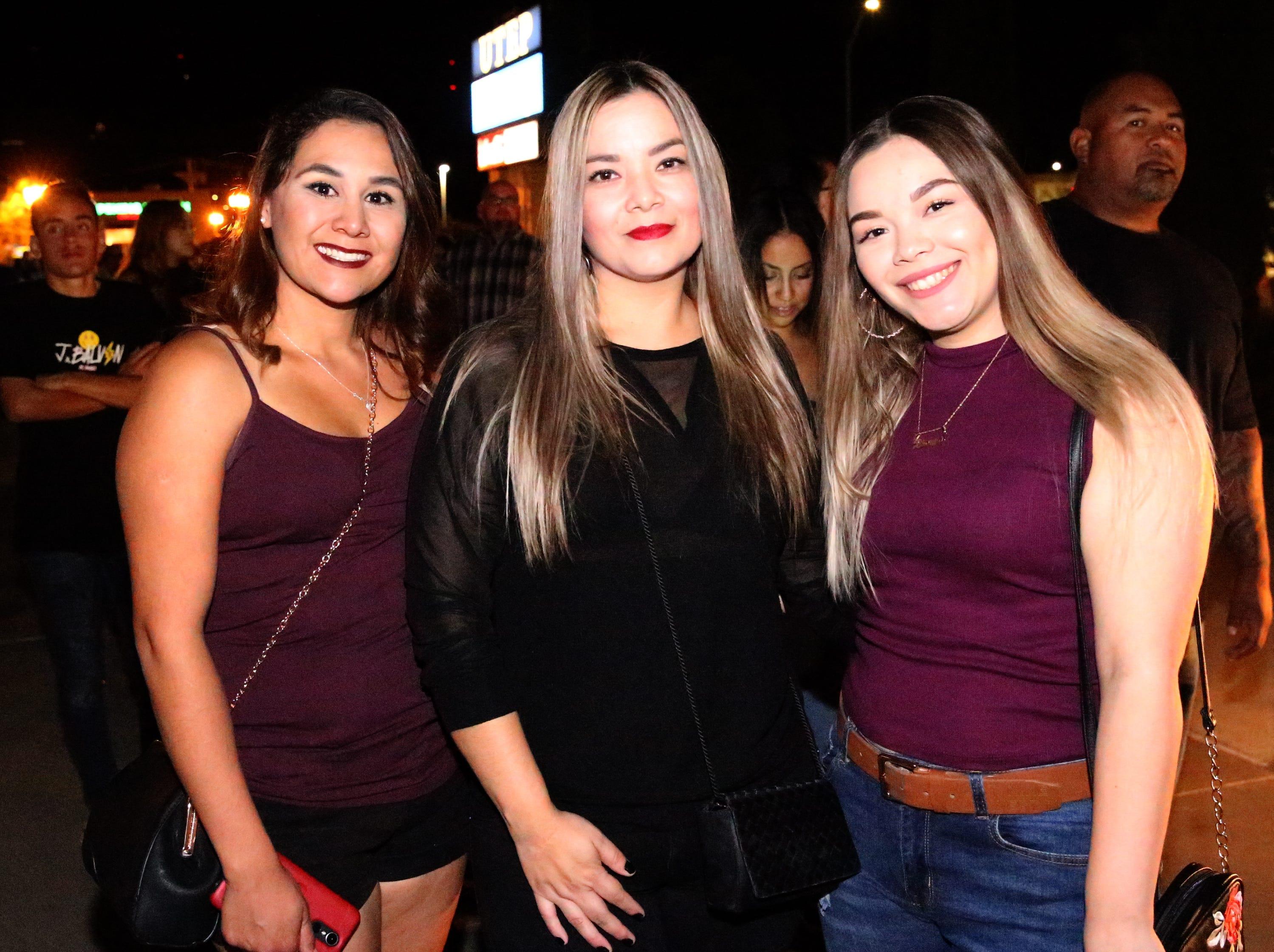 L-R: Claudia Guzman, Mayra Cruz and Bianca Quintanar.