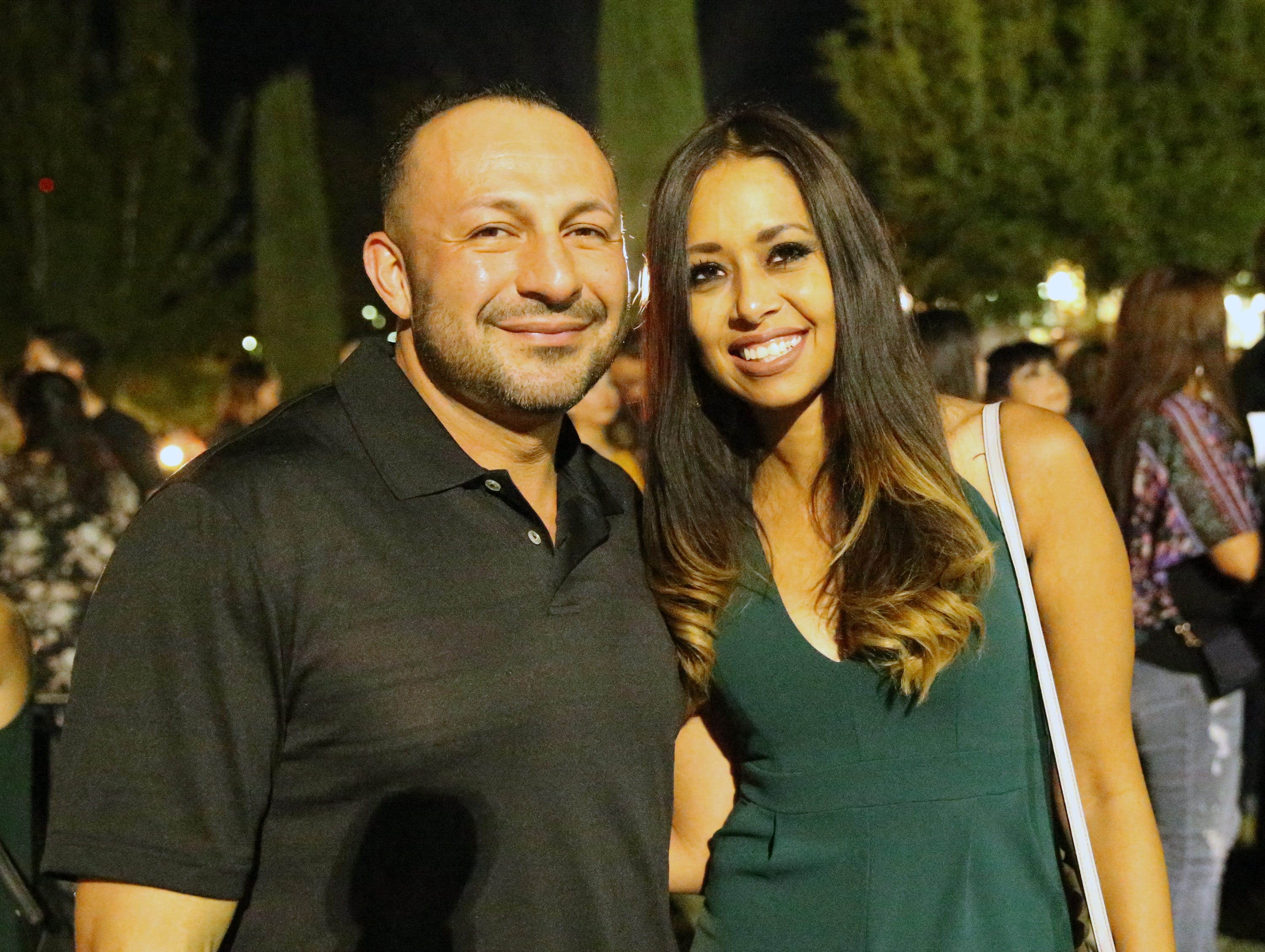 Joey Urriticochea and Viridiana Diaz.