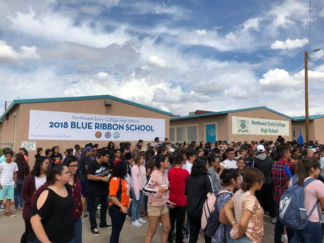 The Northwest Early College High School in the Canutillo ISD was named as a 2018 National Blue Ribbon School by the U.S. Department of Education.