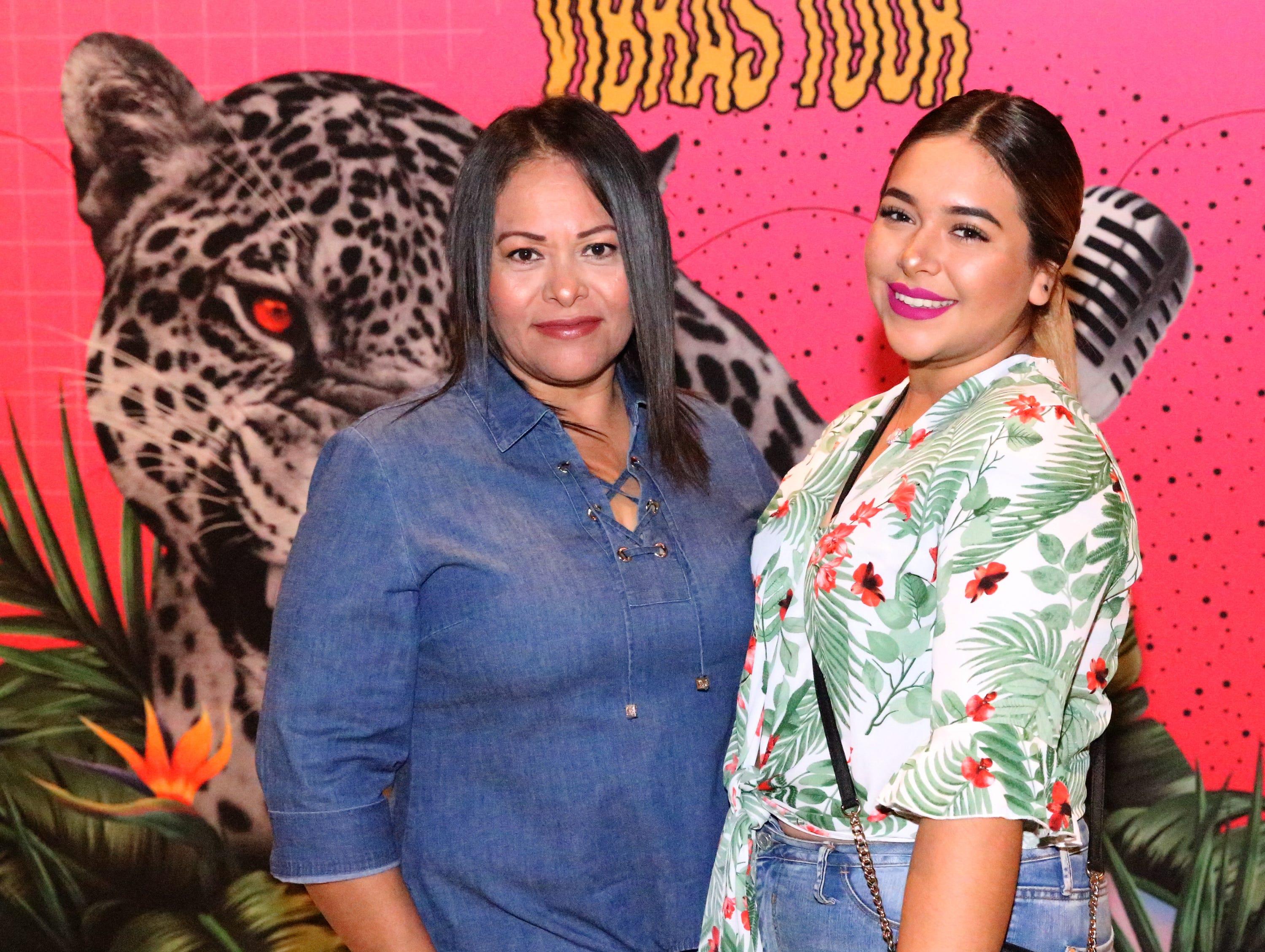 Sanjuana Sotelo, left, and daughter Valeria Morales.