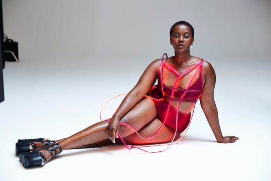 "Model Philomena Kwao is in the movie, ""Straight/Curve: Redefining Body Image,"" which will be screened at 6 p.m. Thursday at Oxnard College."