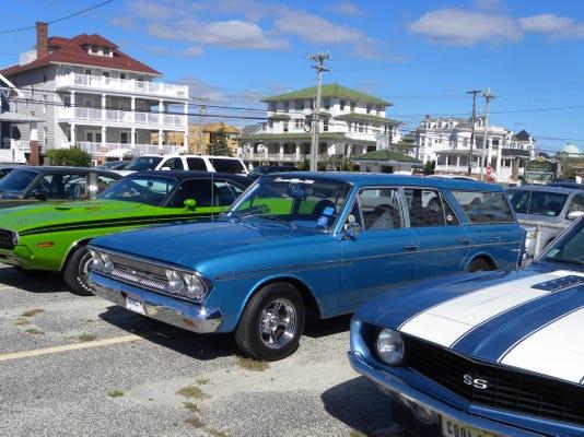 South Jersey Cruisers Association Car Club's fun run to Ocean City