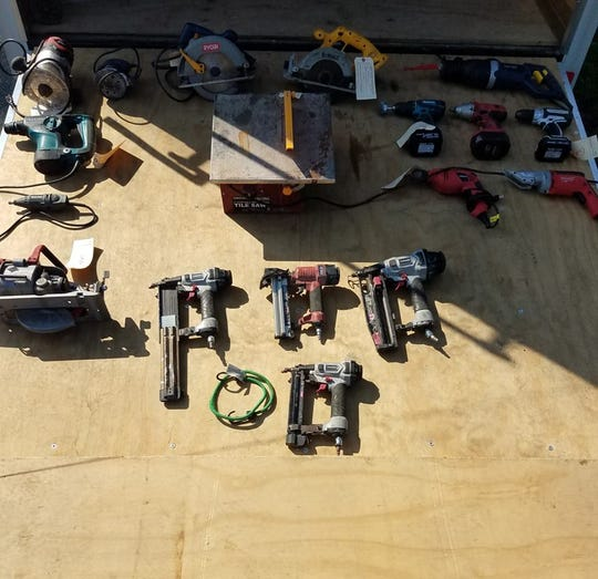New Jersey State Police are looking to reunite this recovered equipment with the rightful owners.