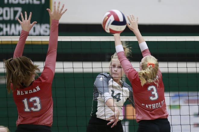 D.C. Everest outside hitter Maisie Gelhar had strong performances in a Wisconsin Valley Conference match against Wisconsin Rapids on Thursday and during a weekend tournament at Menomonee Falls.