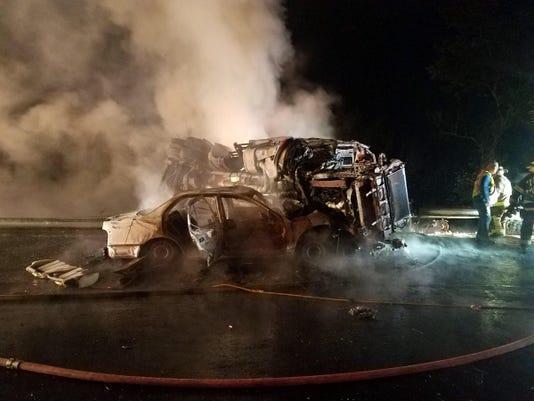 Interstate 84 crash