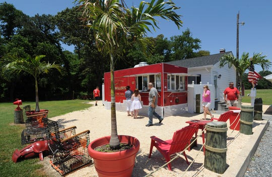 The Jimmy Buffett ambiance was strong at the former Fishkiller's Lobster Shack near Dagsboro. The food truck didn't reopen in 2017 and was sold this year to a Townsend crab business.