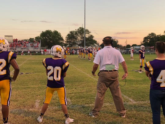 The Munday football team is still looking for its first win this season.