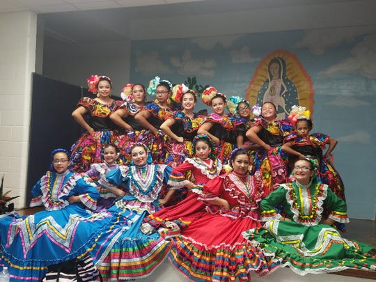 The Zavala International Dance group will perform at 5 p.m. Saturday at the Zavala Latin Festival in the dress and dance styles of Vera Cruz, Jalisco, Nuevo Leon, Concheros and Chiapas.