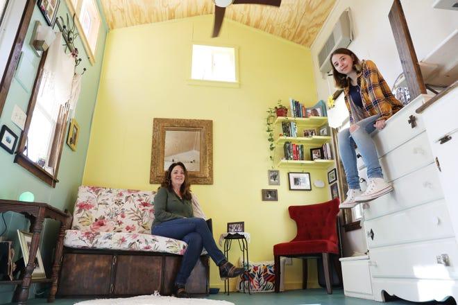 Diane Hand and her daughter Mara built a tiny house near Crooksville.