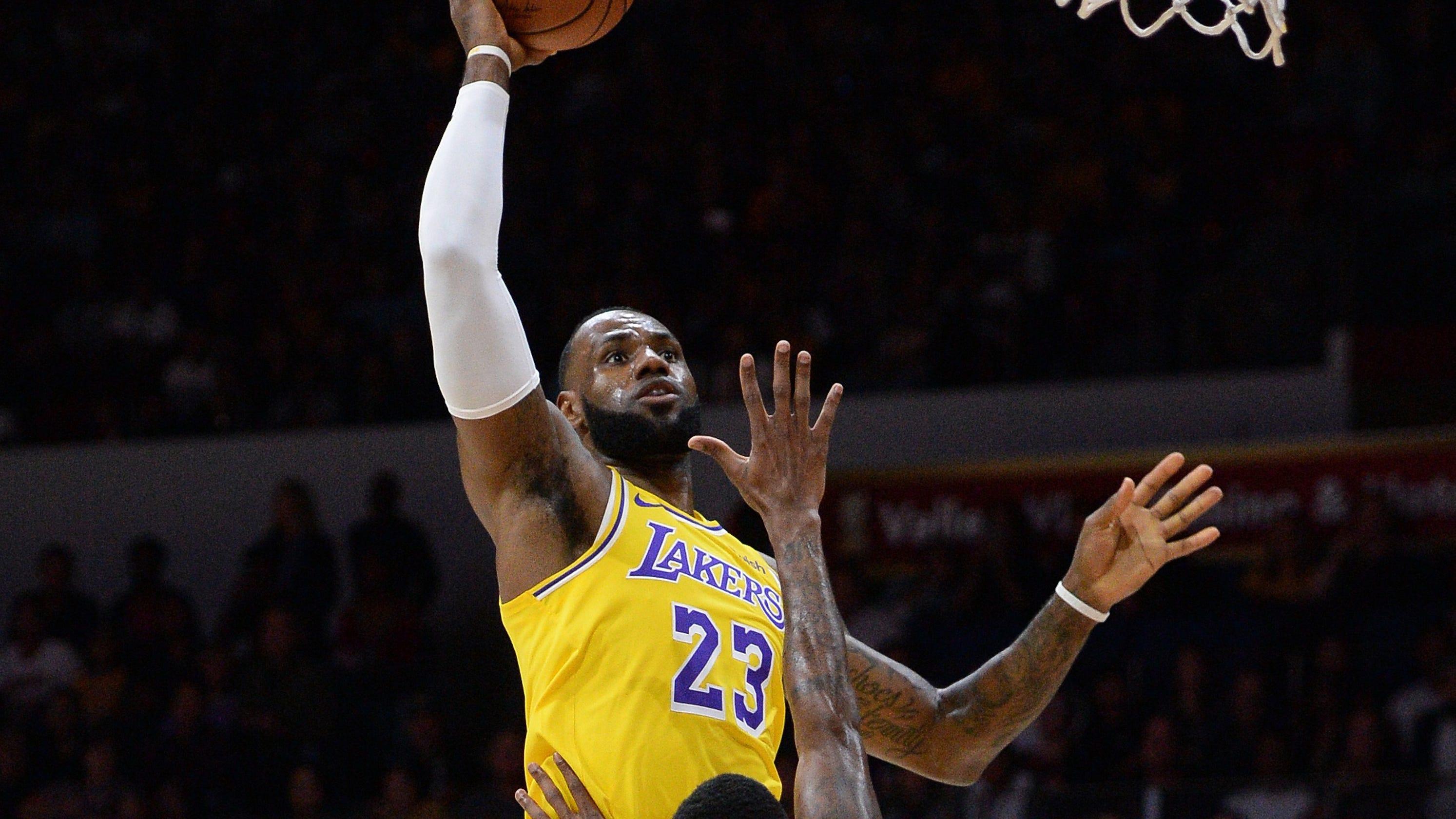 a9216c8036fc LeBron makes Lakers preseason debut  Key takeaways