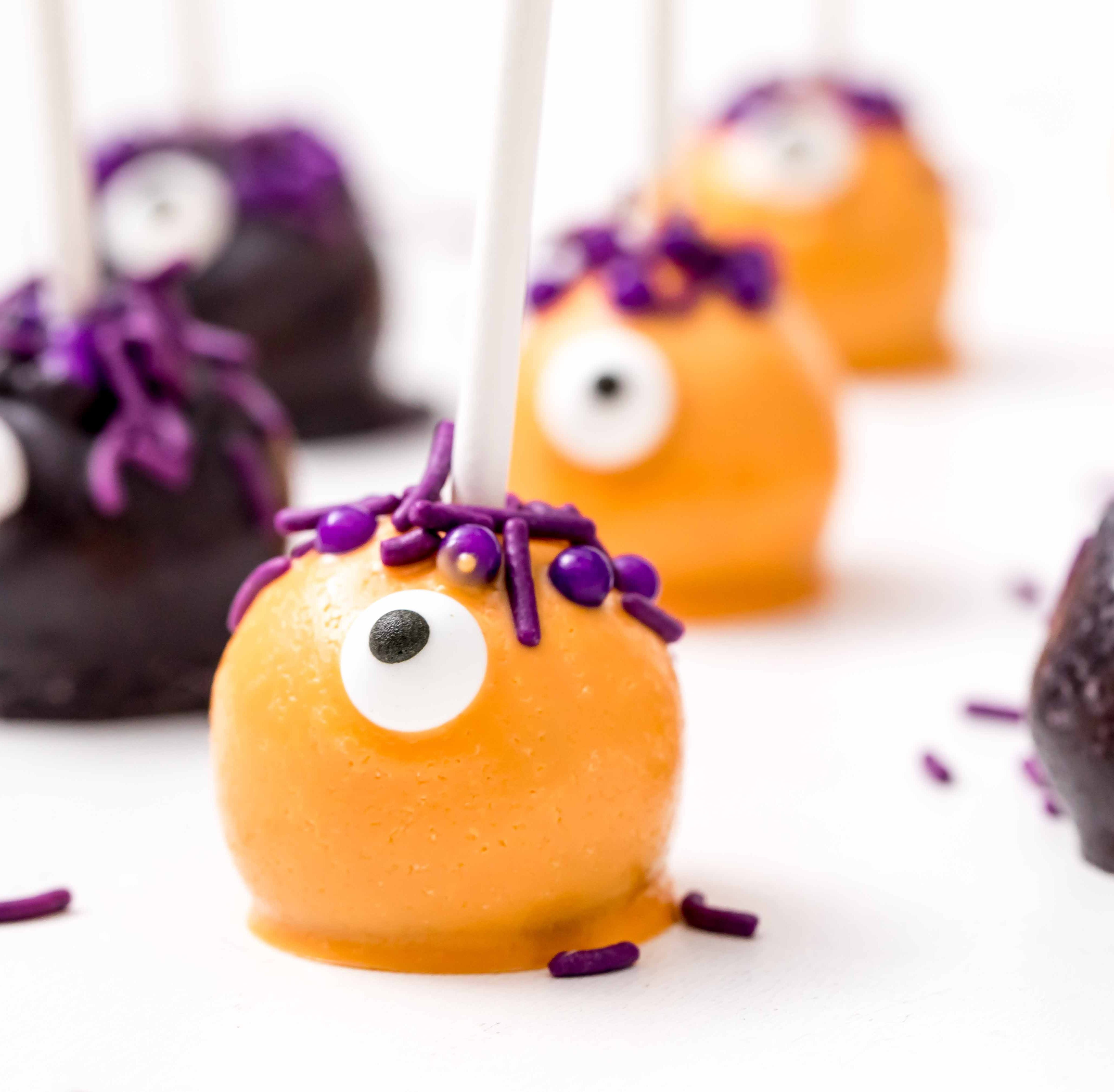 Halloween food ideas: Monster cake pops, jack o' lantern peppers and more party recipes