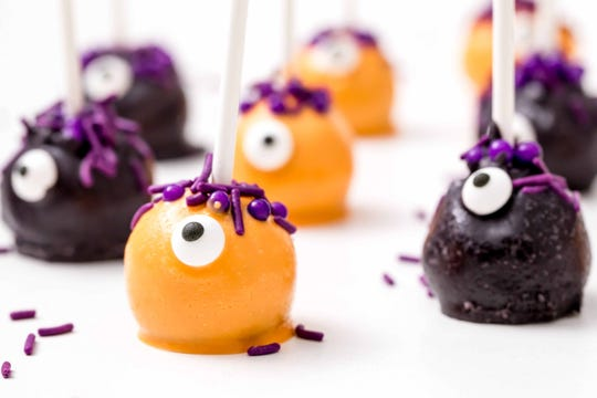 Monster cake pops will be a hit with kids and adults.