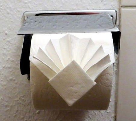 Foldedtoiletpaper