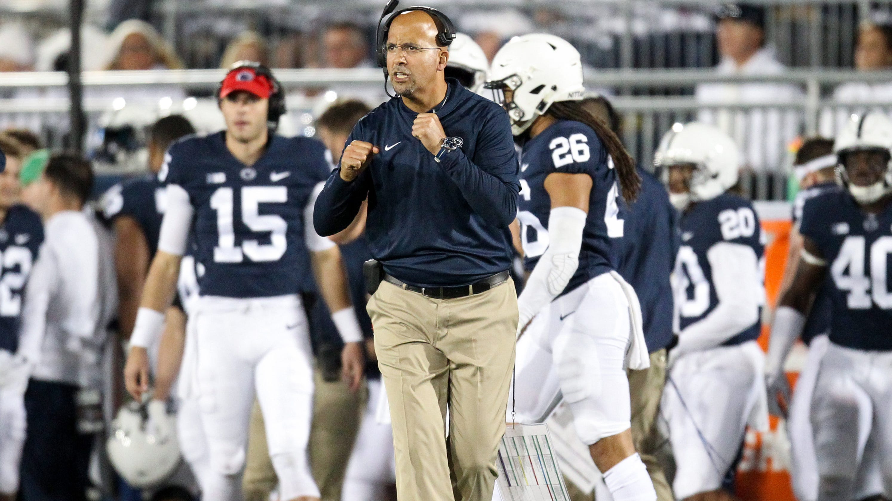 30208c465 James Franklin isn t wrong  Penn State is close to joining to college  football s elite