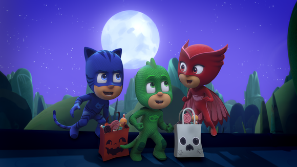 """""""PJ Masks"""" will debut a two-part, back-to-back """"Halloween Tricksters"""" special on the Disney Channel."""