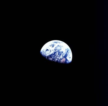 Apollo 8 astronauts delivered a 1968 Christmas message that calmed a ravaged nation