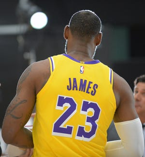 LeBron James is the biggest star in a Los Angeles sky bright with talented, successful teams.