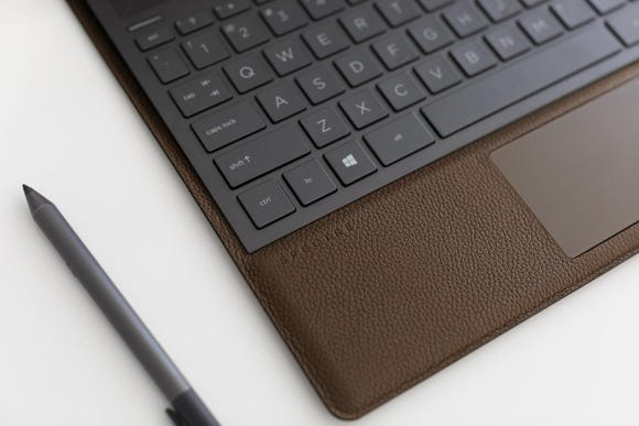 HP's leather Spectre Folio. How will the leather hold up?