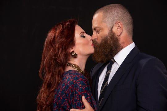 Megan Mullally and Nick Offerman have been together for 18 years and just celebrated their 15th wedding anniversary.