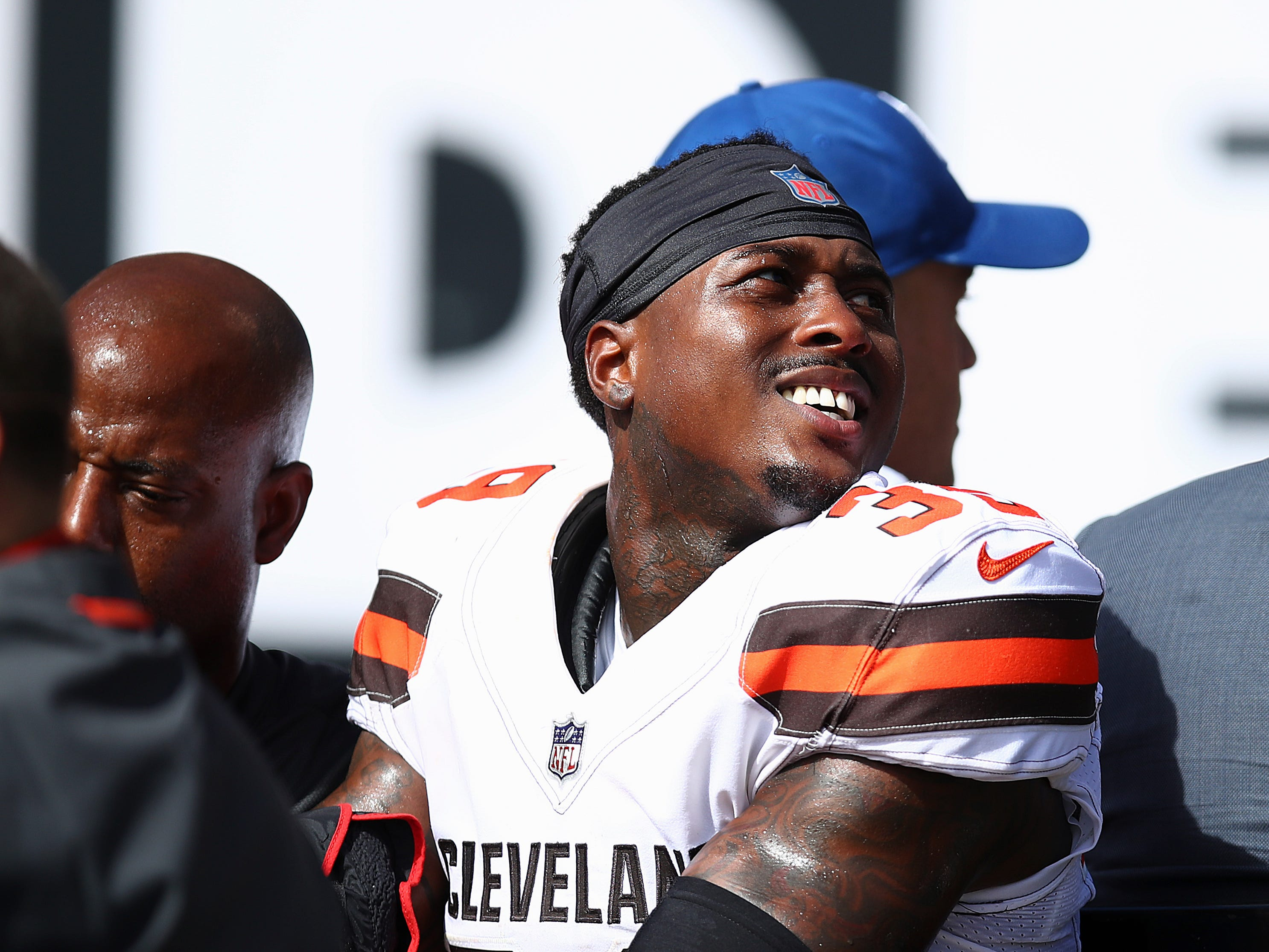Terrance Mitchell, CB, Cleveland Browns (broken forearm, out indefinitely)