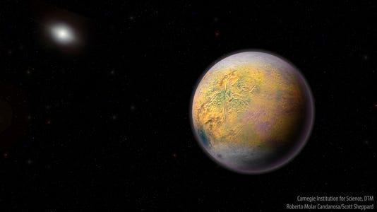 Planet X found