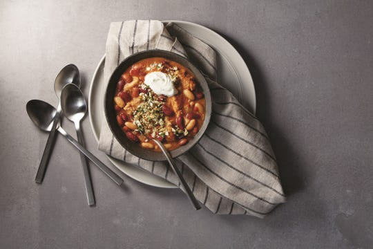 With its vibrant colors and warm taste, chili is the ultimate fall dish.