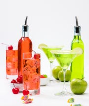 Use candy to infuse vodka for a sweet treat.