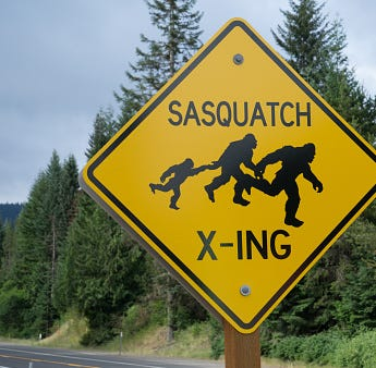 Blog dedicated to Sasquatch sightings lists lake near San Angelo as a location