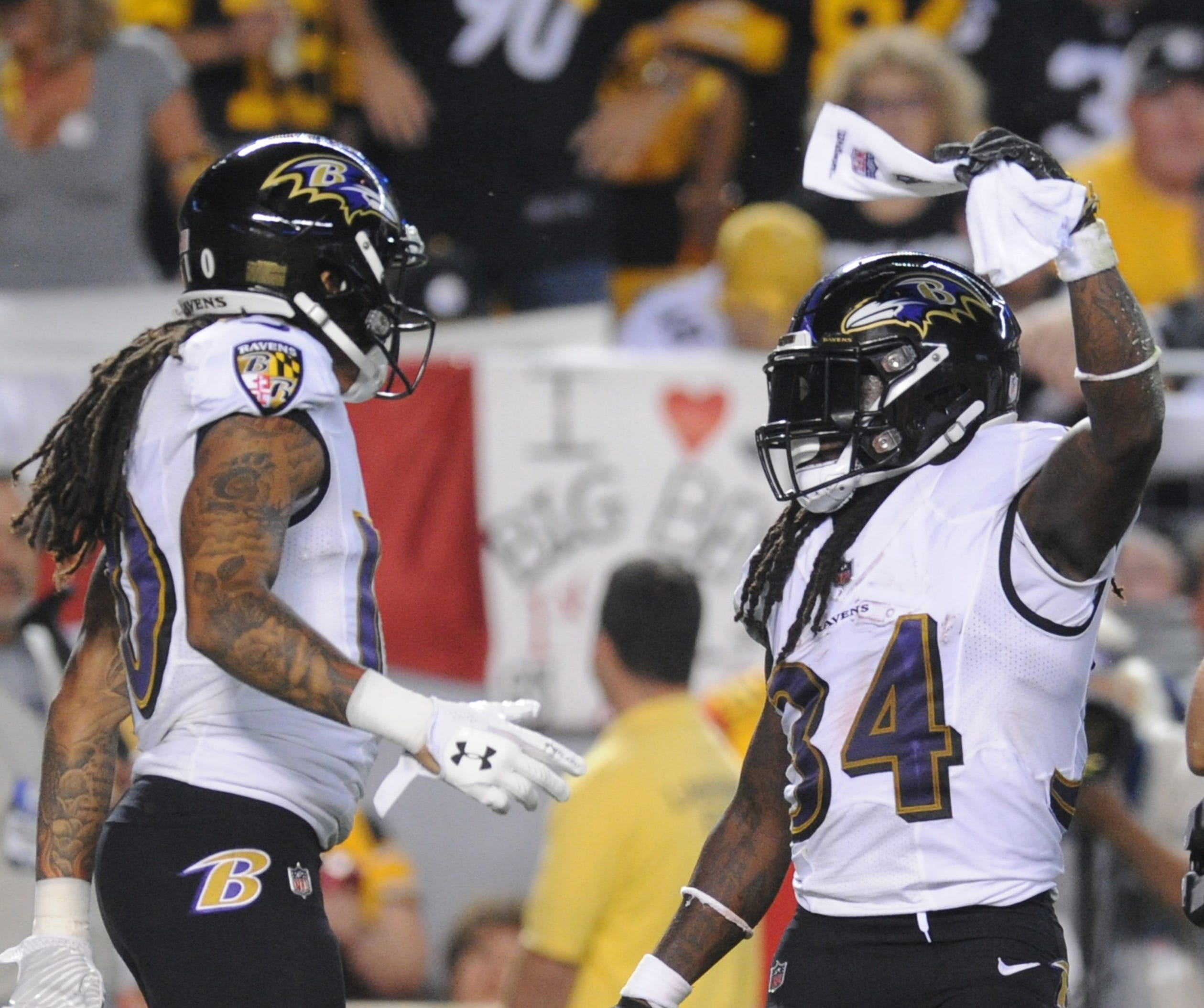 Nfl Baltimore Ravens At Pittsburgh Steelers