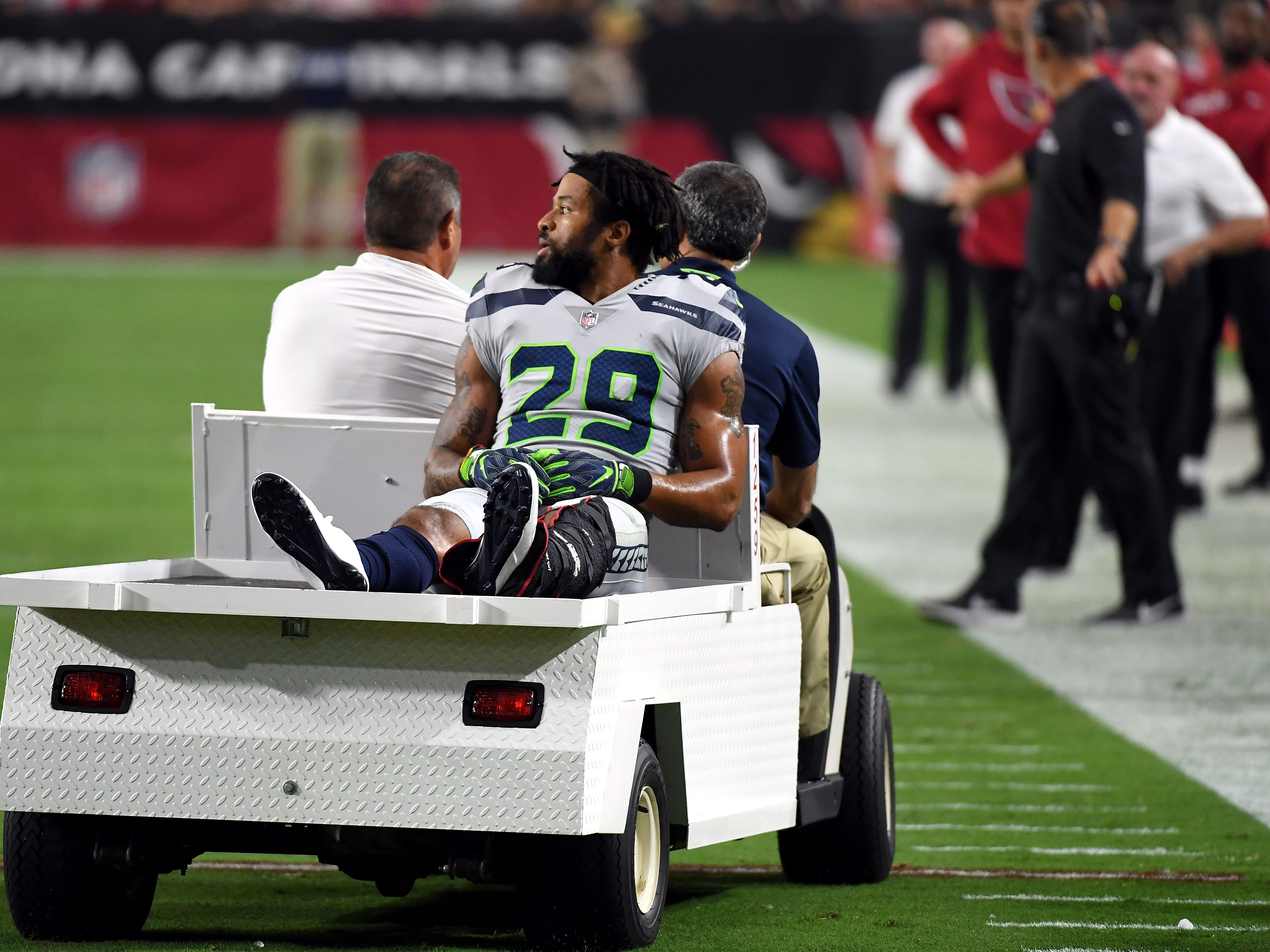 Earl Thomas, S, Seahawks (fractured lower leg, expected to miss rest of season)