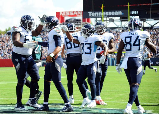 Nfl Philadelphia Eagles At Tennessee Titans