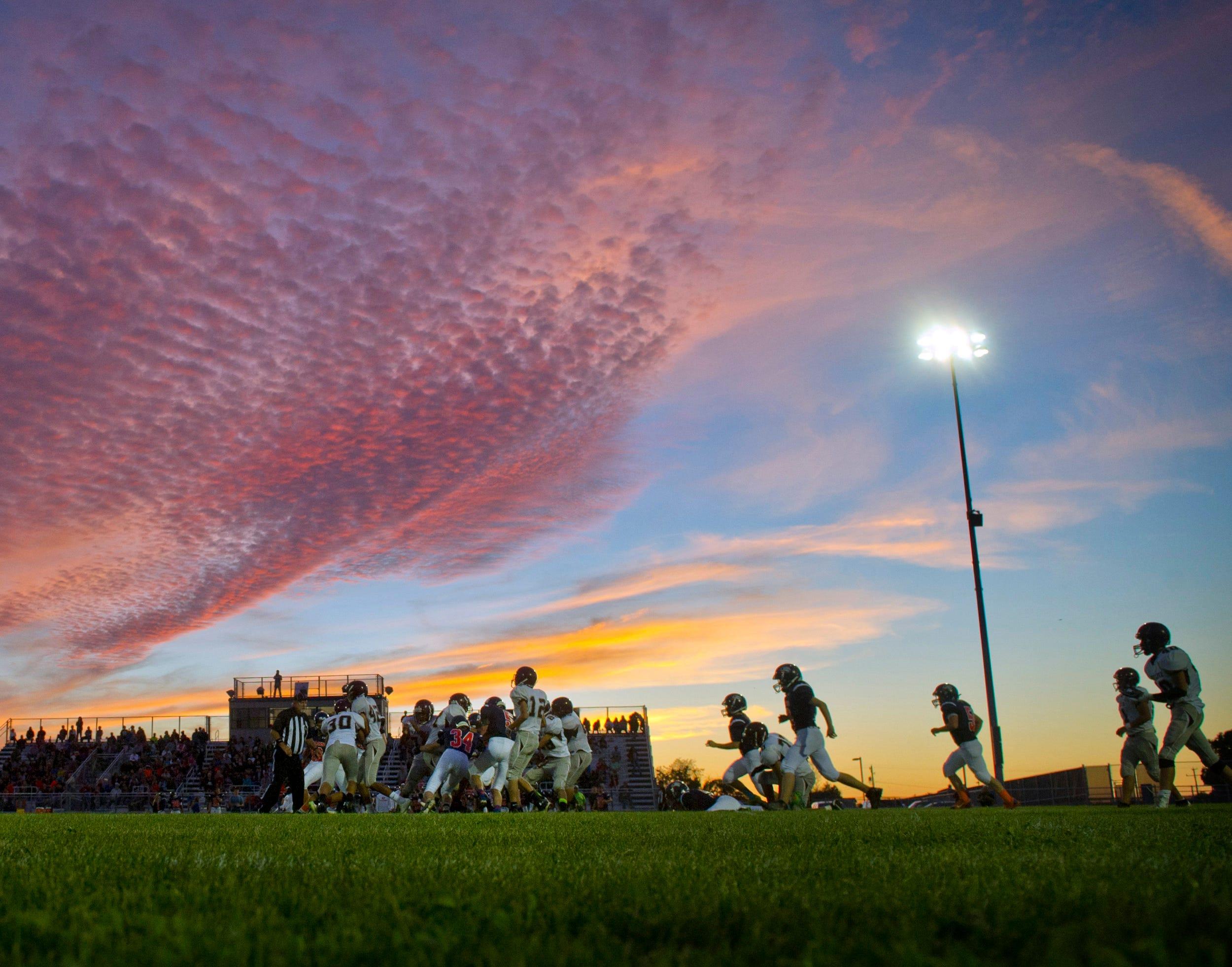 Ap Sunset Football A Fea Usa Wa
