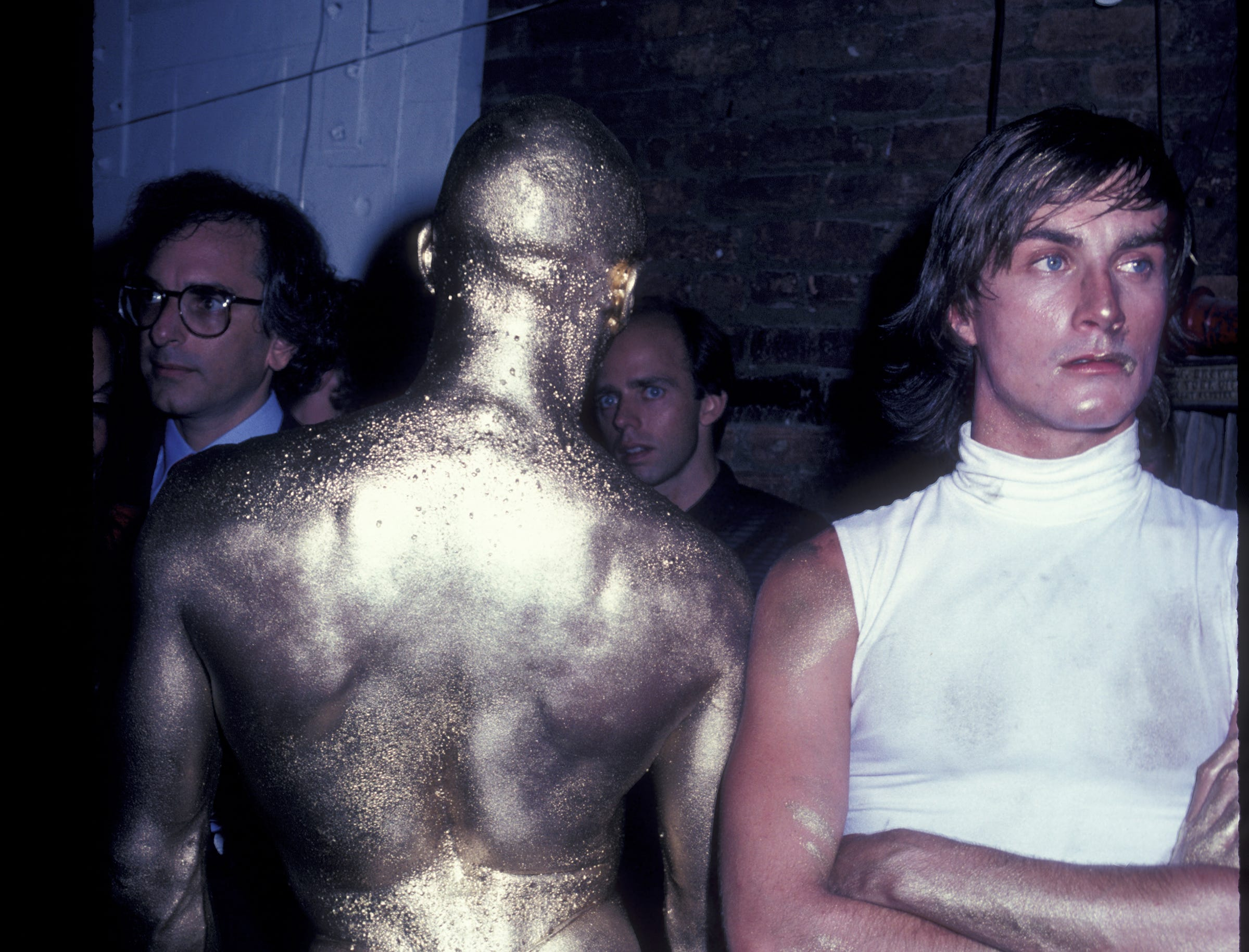 Sometimes, the golden era of disco partying was truly golden.