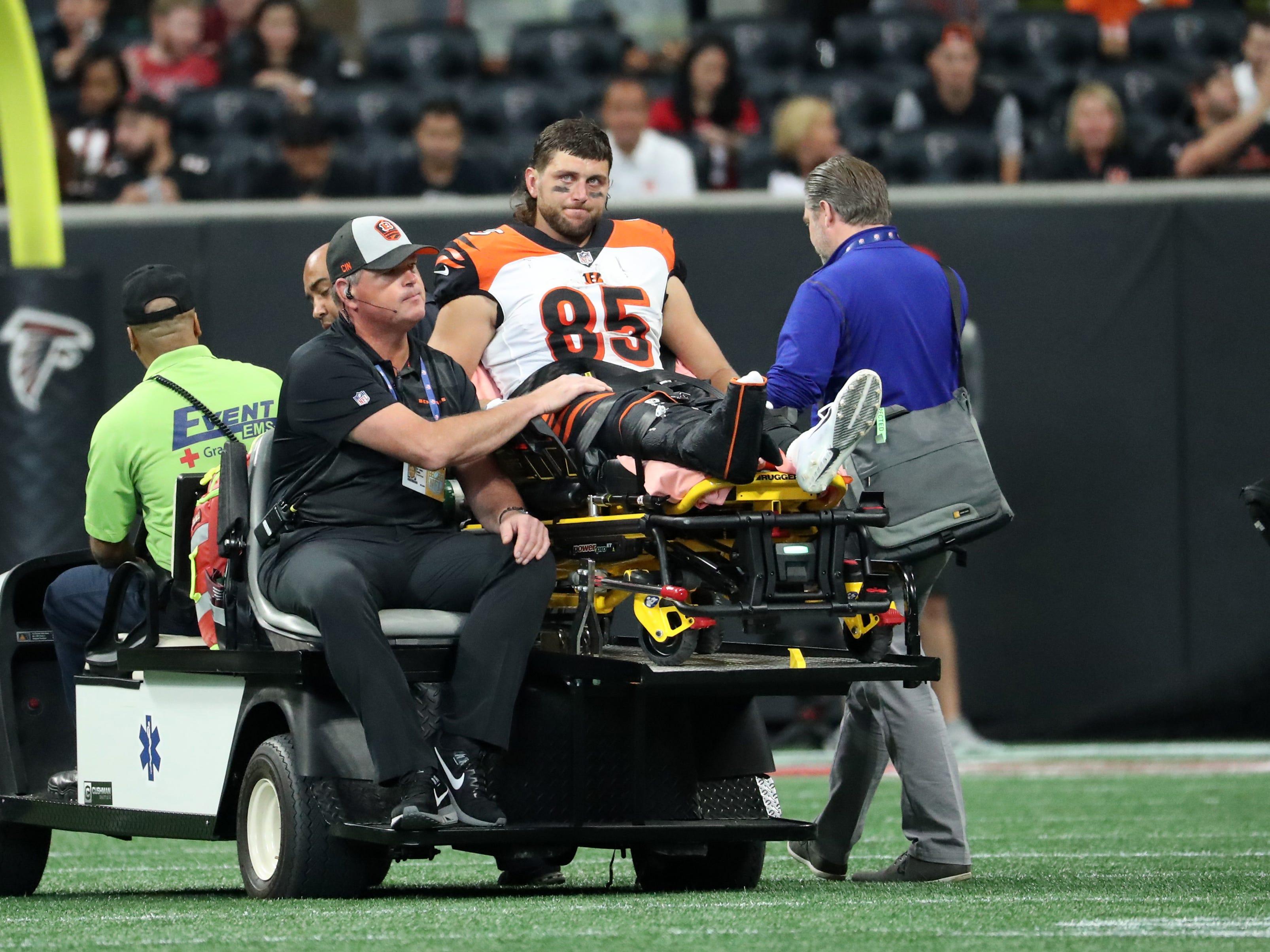 Tyler Eifert, TE, Cincinnati Bengals (broken ankle, expected to miss rest of season)